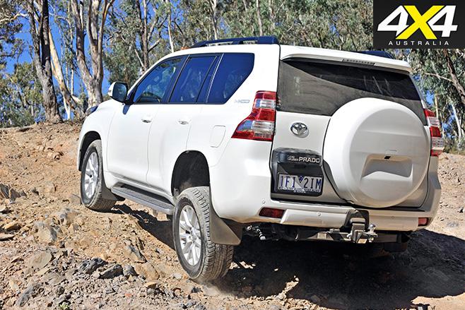 Toyota Prado rear