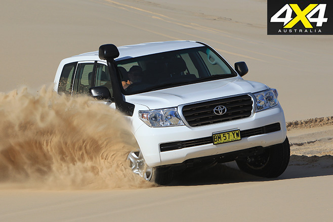 Toyota land cruiser 200-series