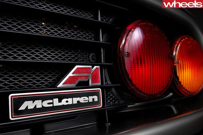 Mc Laren -F1-badge