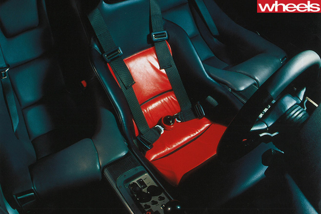 Mc Laren -F1-racing -seat