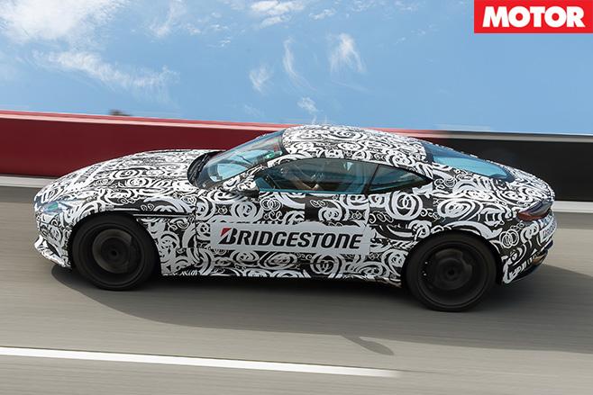 Aston Martin DB11 prototype side