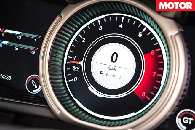 Aston Martin DB11 odomoter