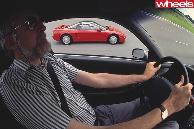 Honda -NSX-Peter -Robinson -driving