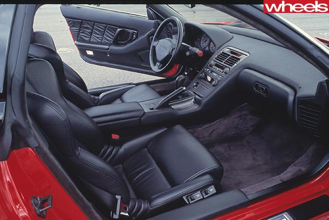 Honda -NSX-interior