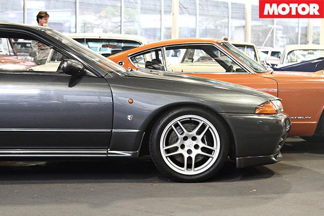 Nissan GTR R32 and R35