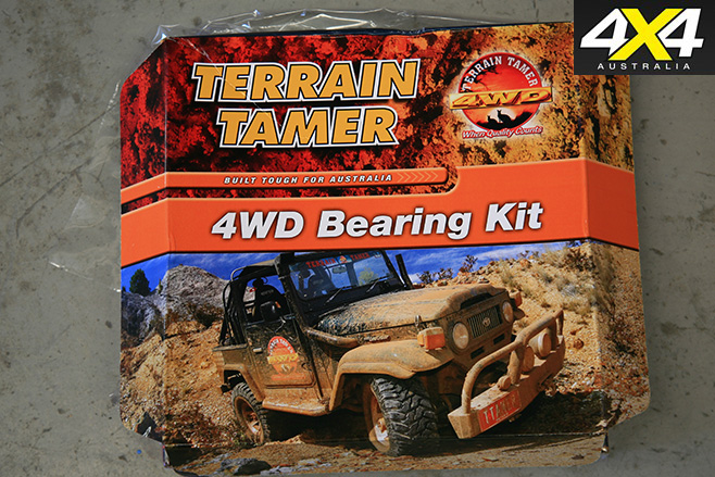 4WD bearing kit
