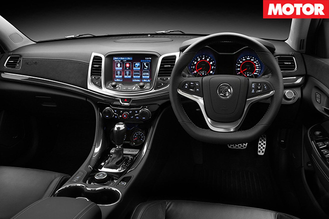HSV Gen-F GTS interior