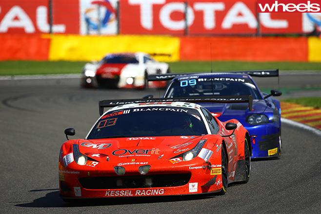 Ferrari -GT3-car