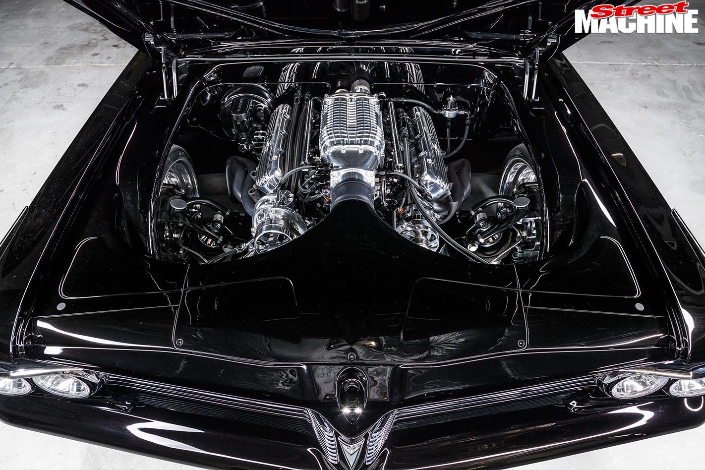 Pontiac -Laurentian -engine -bay