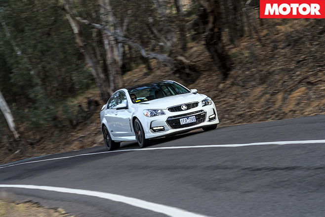 Holden driving