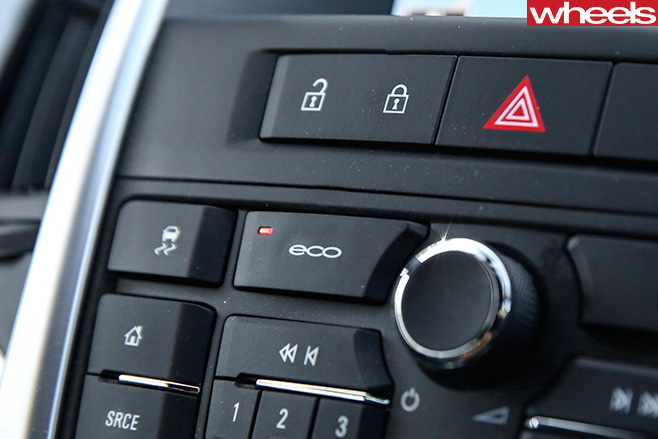 Holden -Astra -GTC-Sport -eco -button