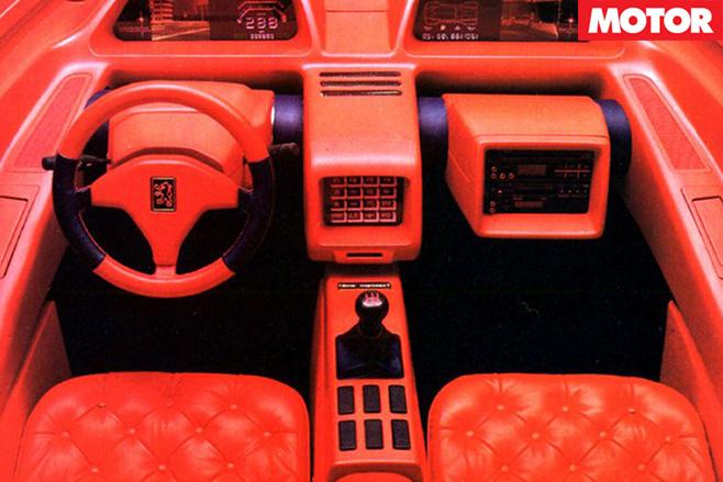 Peugeot Proxima interior
