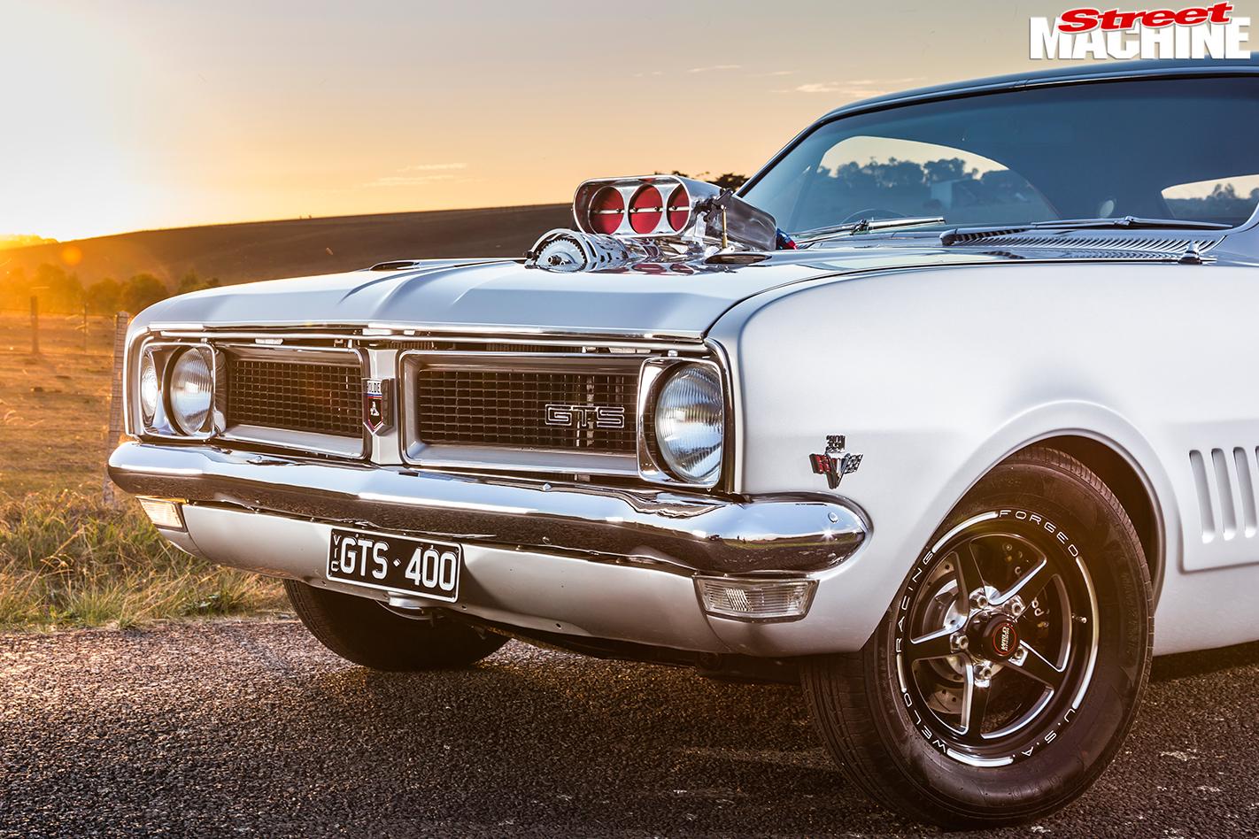 Holden -HG-Monaro -front -quarter