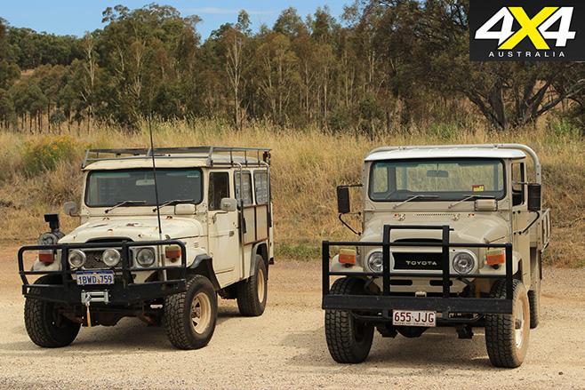 Classic Landcruiser 4x4s