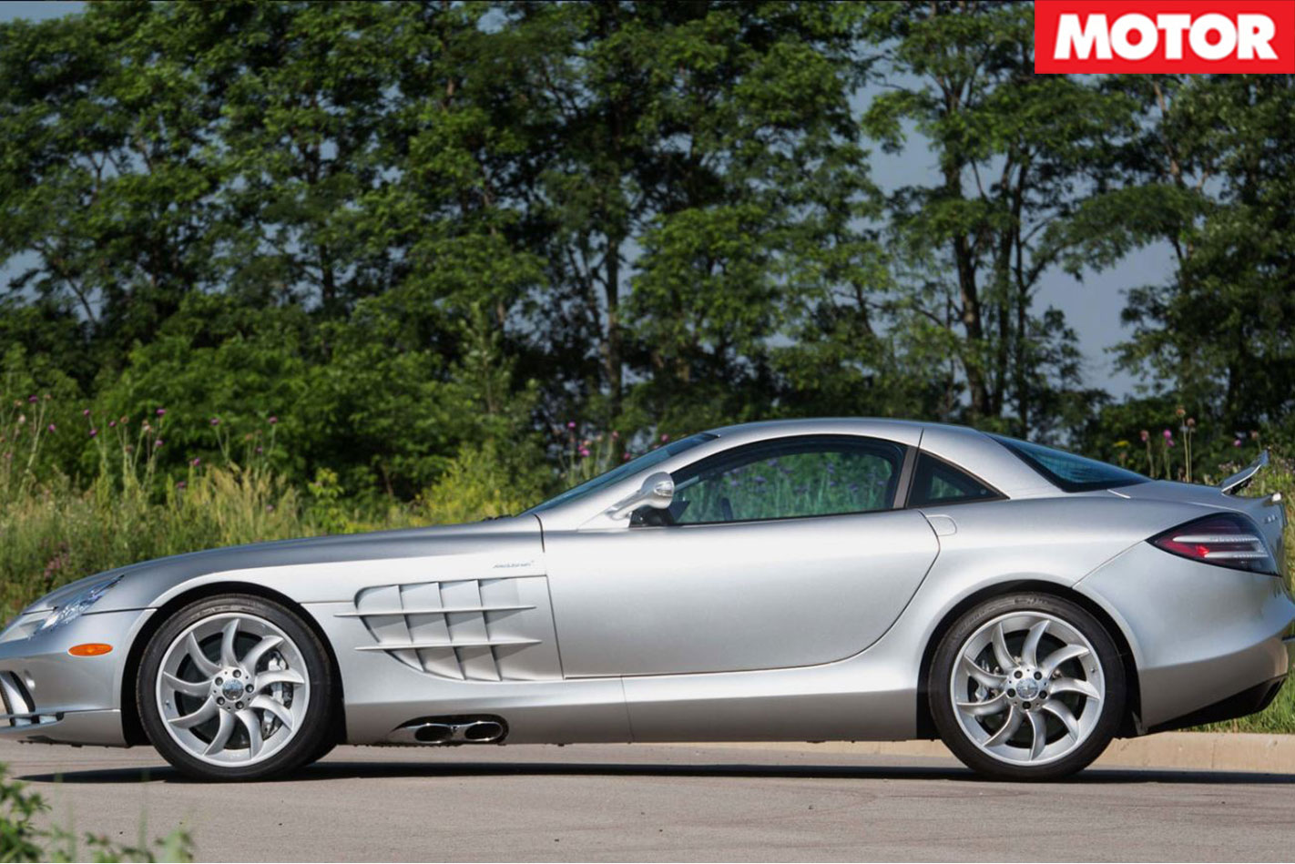 Mercedes McLaren SLR side