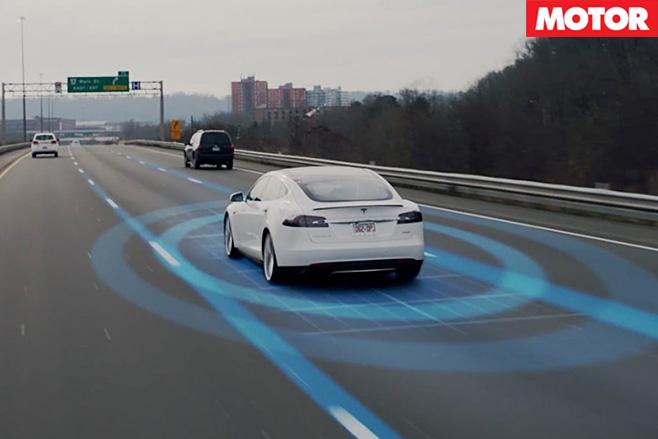 Tesla radar
