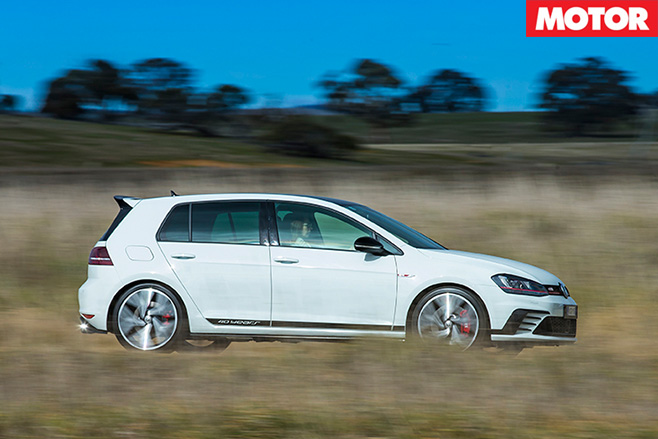 Volkswagen Golf GTI 40-Years side