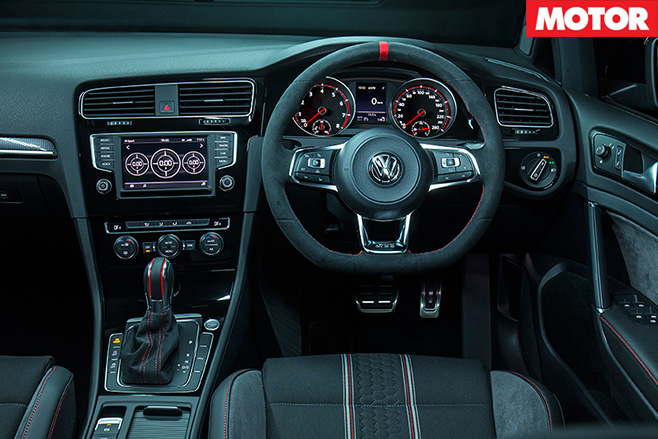 Volkswagen Golf GTI 40 Years dashboard