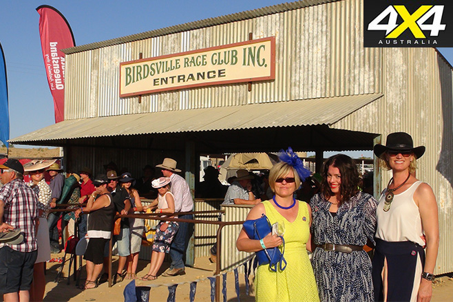 Dressing up for the birdsville races