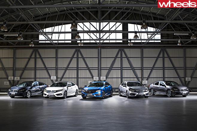 Honda Civic range