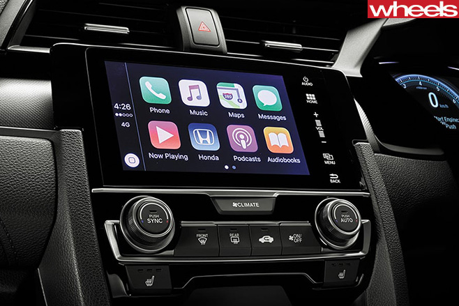 Honda Civic RS Apple Carplay