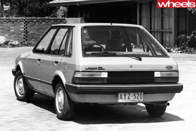 Ford -Laser -GL-side -rear