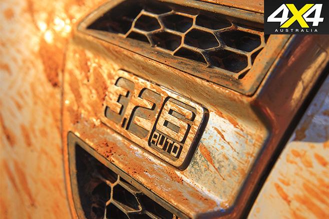 3.2L auto badge