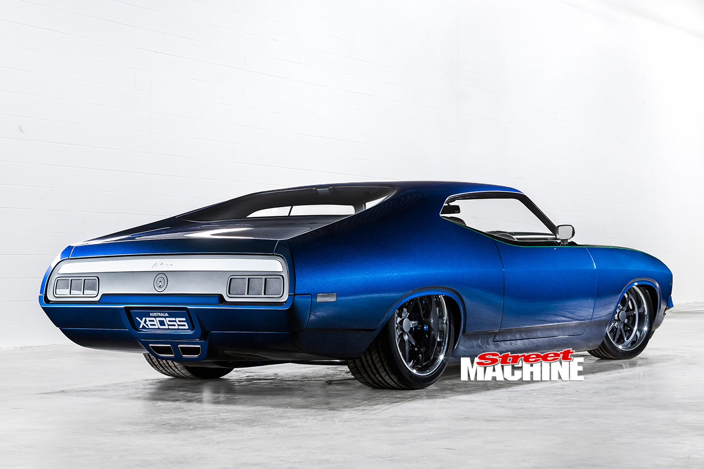 CHRIS BITMEAD'S STUNNING 1976 FORD FALCON XB COUPE - XBOSS