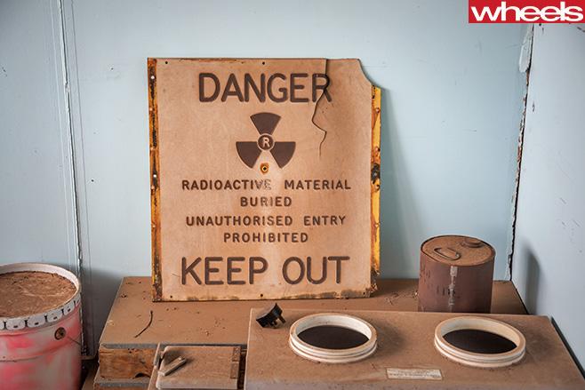Radioactive -material