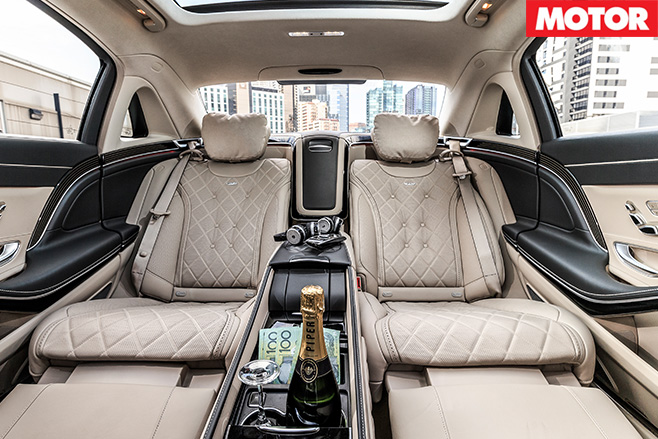 Mercedes -Maybach -S600-rear -seats -2