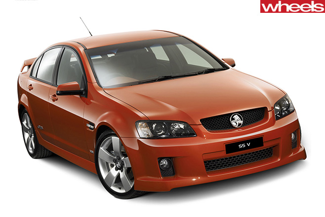 Holden -VE-Commodore -SS-V-front -side