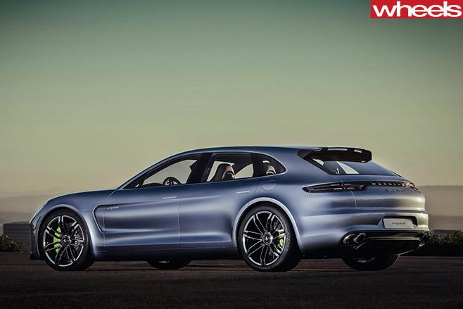 Porsche -Panamera -rear -front