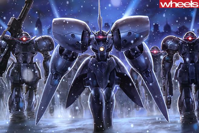 Gandam -robots
