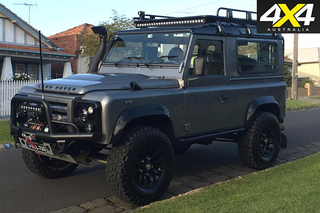 Land Rover Defender 90 limited edition front