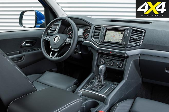 Volkswagen Amarok Aventura interior