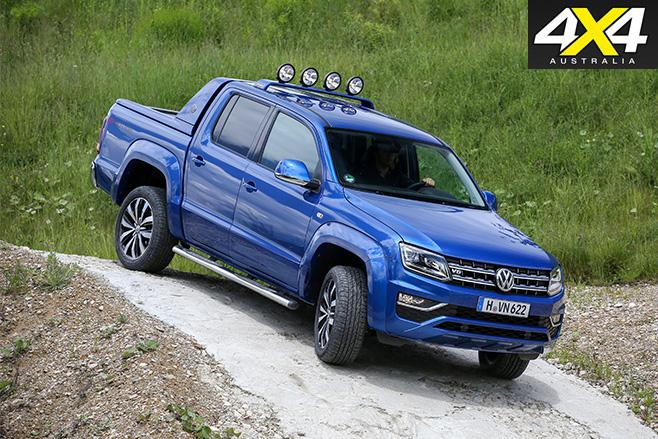 Volkswagen Amarok Aventura turning front