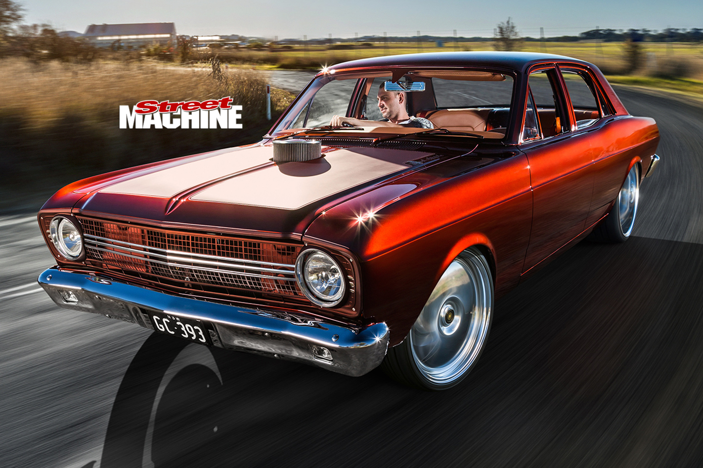 Ford -Falcon -XR-onroad -front