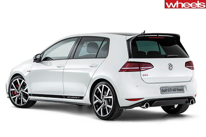 Volkswagen Golf Gti 40 years rear