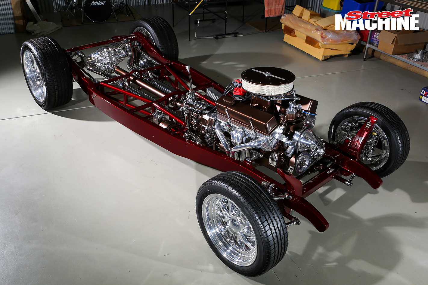 34 Ford Tudor Chassis Custom