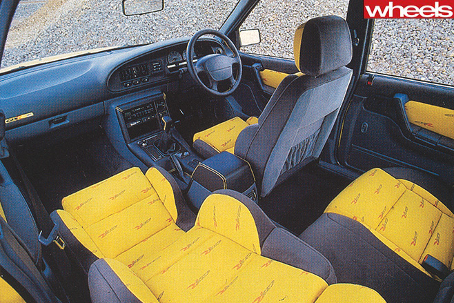 Holden 's -HSV-GTS-R-interior