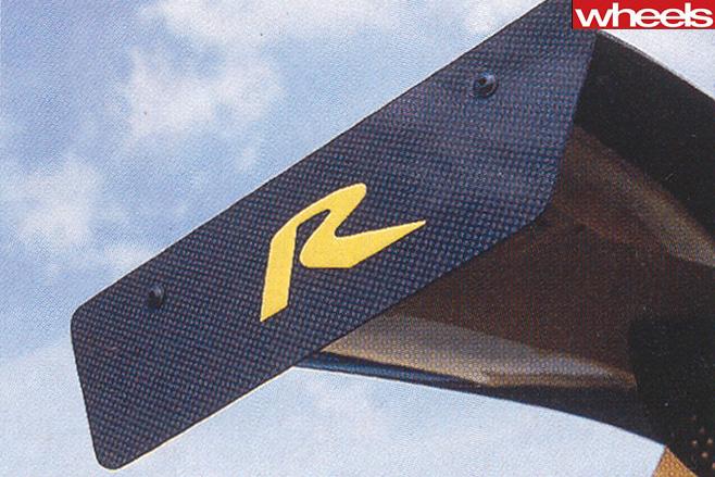 HSV GTS spoiler wing