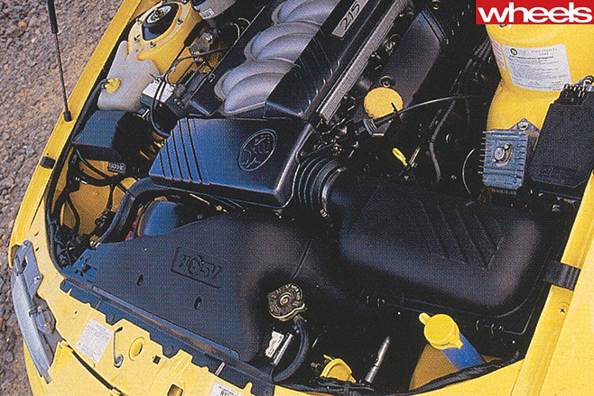 HSV GTS-R engine