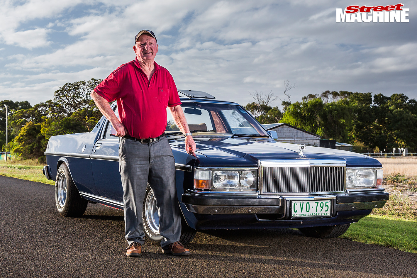 HOlden -WB-ute -Mc Lachlan