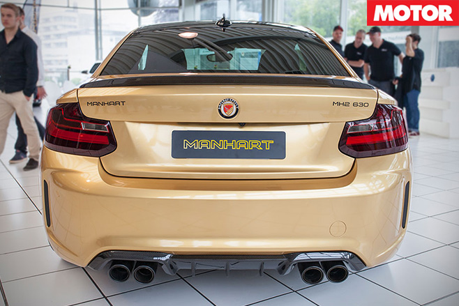 Manhart BMW M2 rear