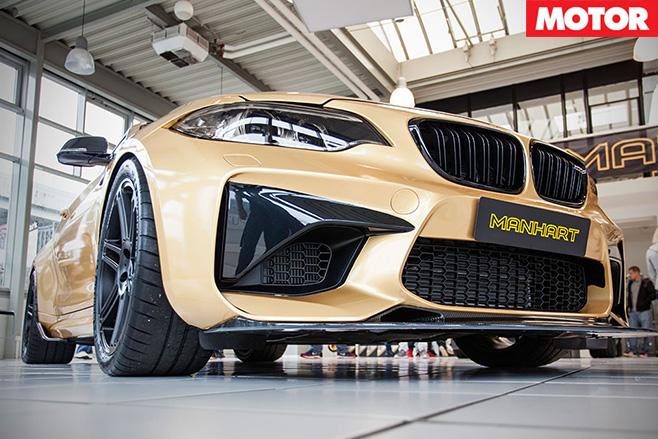 Manhart BMW M2 front