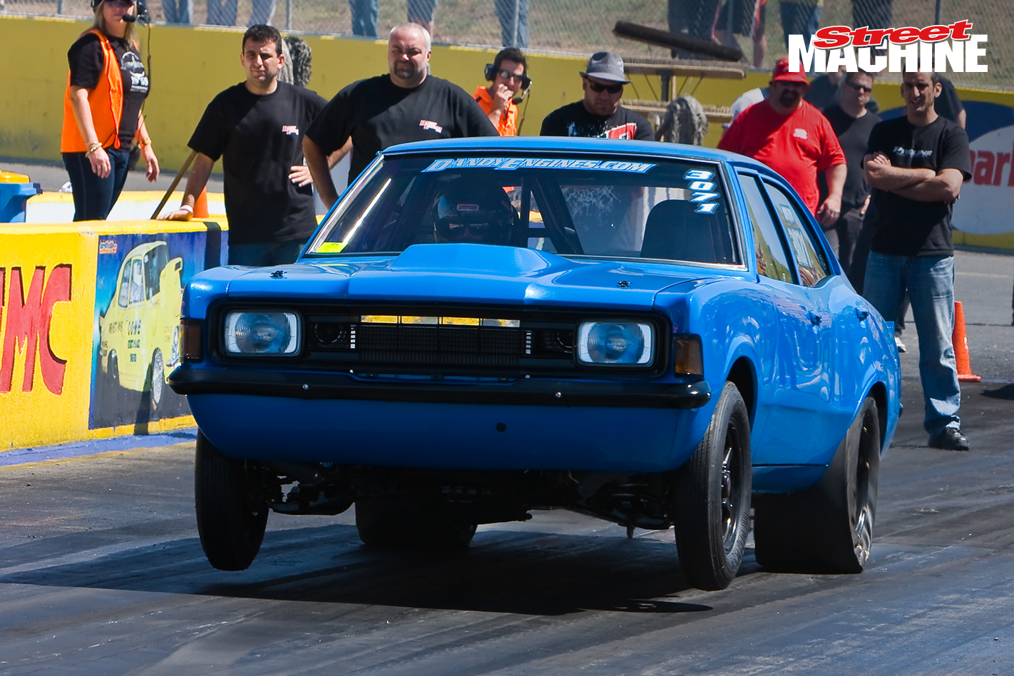 Ford Cortina Drag Race 1