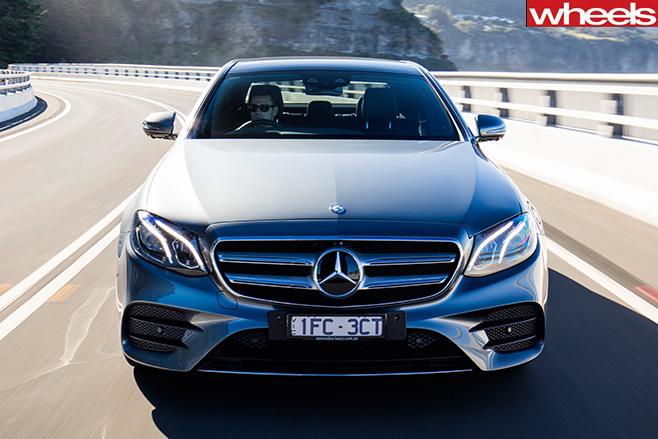 2016 Mercedes-Benz E-Class front