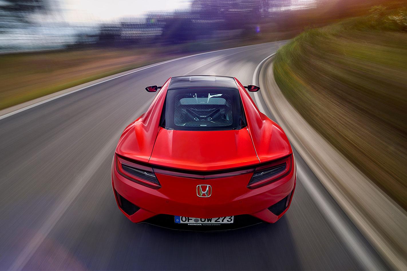 2017-Honda NSX rear