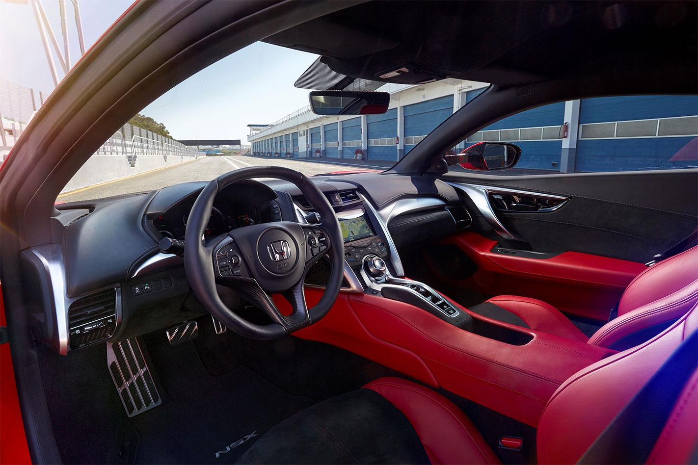 2017-Honda NSX interior