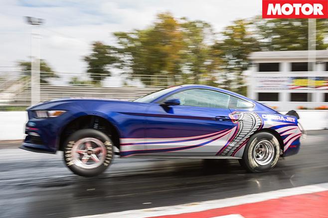 Ford Mustang Cobra Jet racing